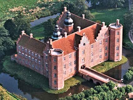 Gammel Estrup museum middelalderlig maleri