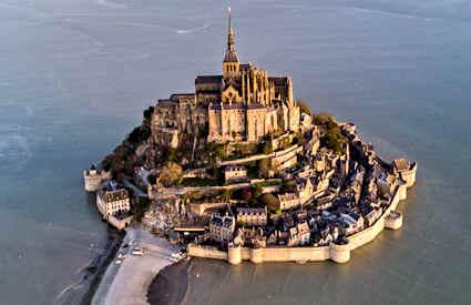 Mont Saint Michel Frankrike